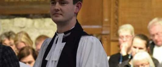 Induction service of The Reverend Dean Roberts